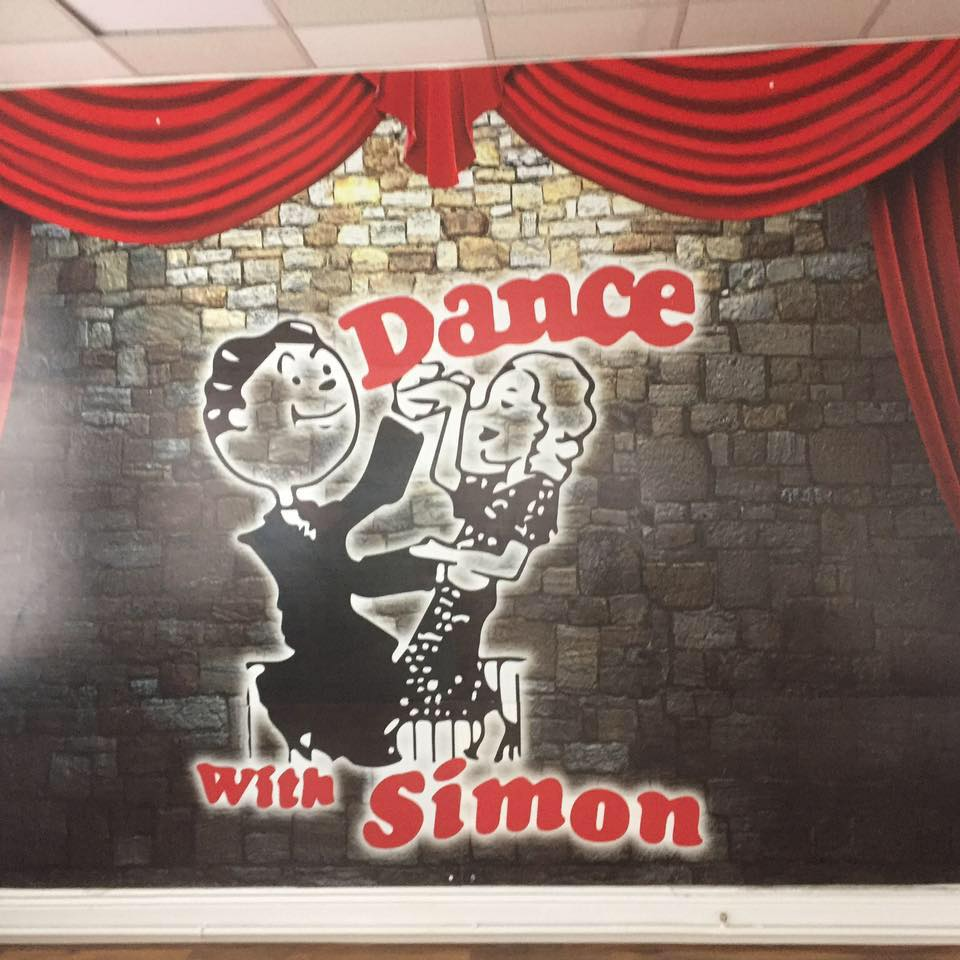 Dance with Simon Sticker on wall